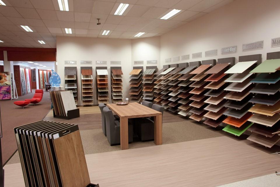 Bekijk 300 pvc vloeren in onze showroom